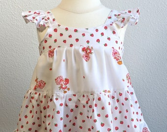 12 Month Strawberry Shortcake Dress