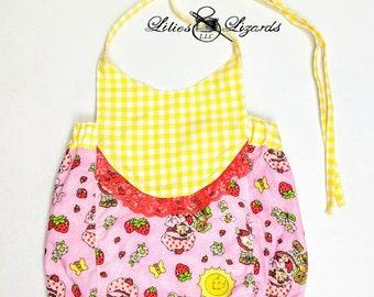 Strawberry Shortcake Romper, Baby Girl Size NB-24m