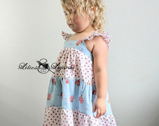 Featured listing image: Size 5 Strawberry Shortcake Summer Dress