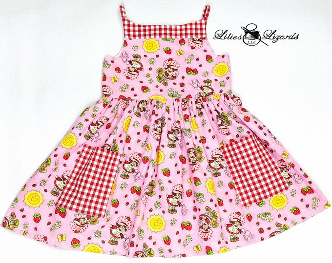 Strawberry Shortcake Dress, 12m-8