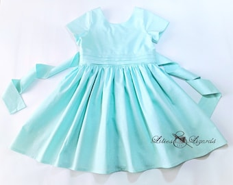 Girls Vintage 1950's Style Dress