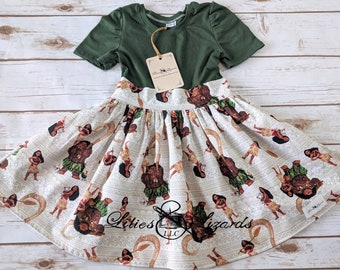 Short Sleeve Moana Dress