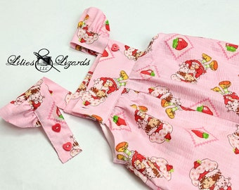 Strawberry Shortcake Girls Overalls