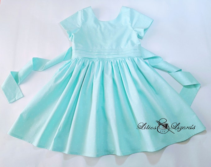 Girls Retro 50s Dress