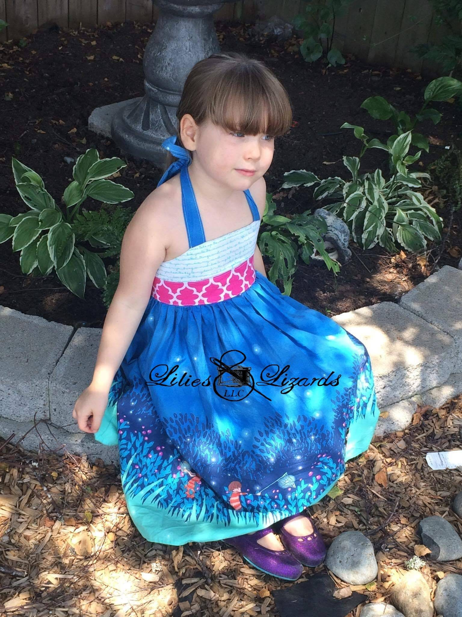 Catching Fireflies Halter Dress