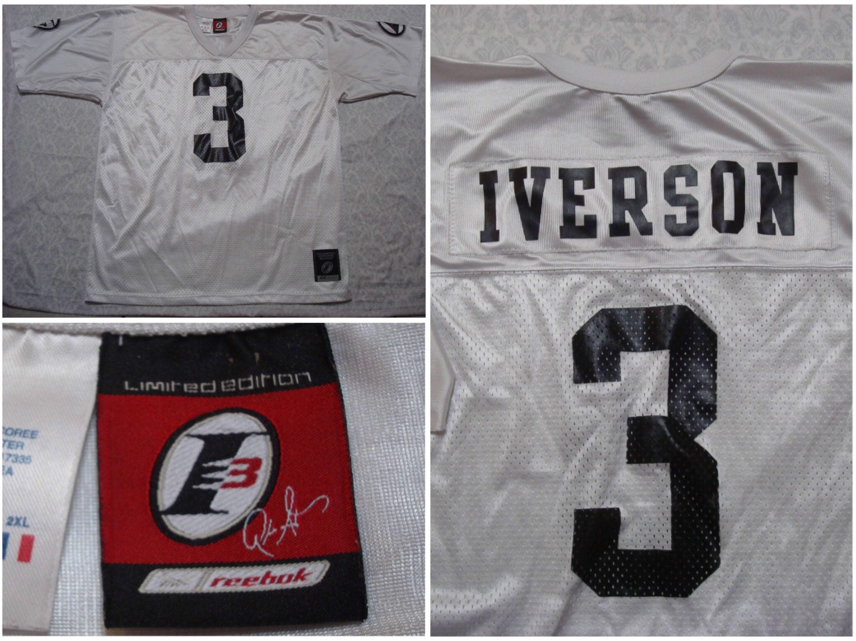 46463ddb886 Vintage Men s 90 s Reebok Allen Iverson I3 Football