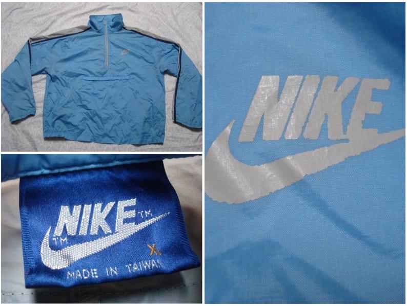 ae277a12b339c4 Vintage Men s 80 s Nike Jacket Winbreaker Pullover