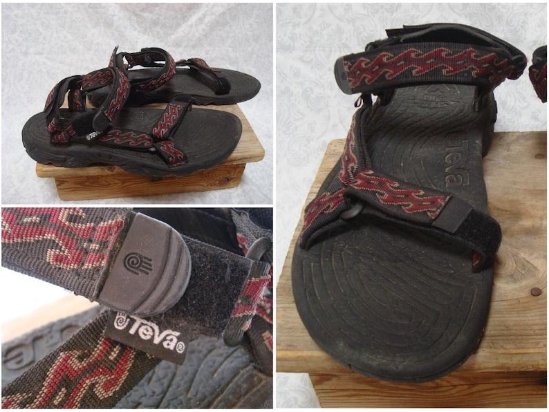 7c8fc0495b1 Vintage Men s 90 s Teva Sandals Tribal Aztec Print