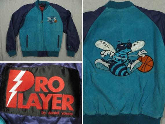 Vintage Hornets Jacket Leather Pro Player Daniel Y