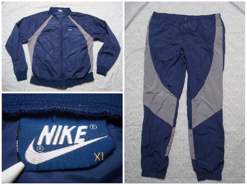 10f9d9b510cd0f Vintage Men s 80 s Nike Dunk Georgetown Suit Nylon