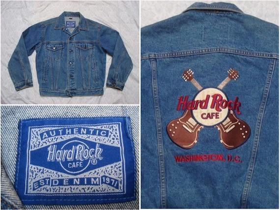 Vintage Hard Rock Cafe Denim Jacket Washington DC