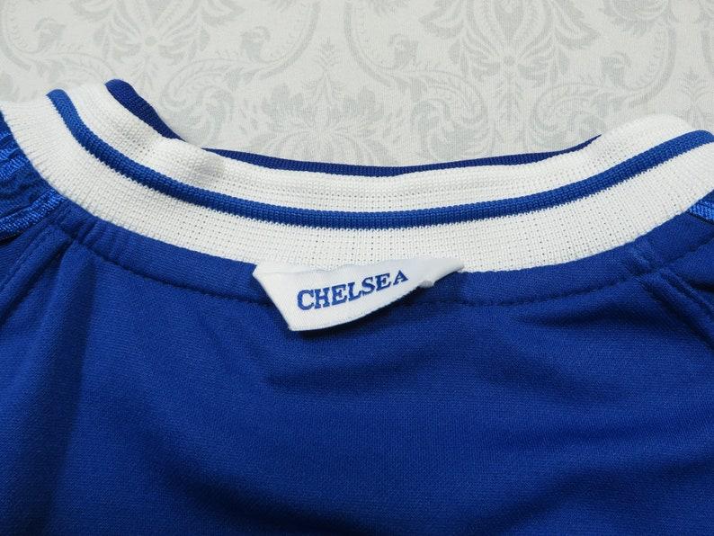 Vintage Chelsea Jersey Umbro Soccer White Blue Autoglass 90/'s Men/'s XL