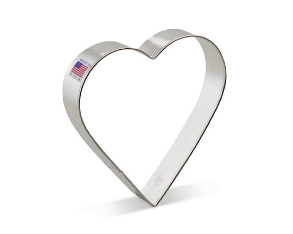 Heart Jumbo Cookie Cutter Shape Valentines Day Food Crafts Bakeware