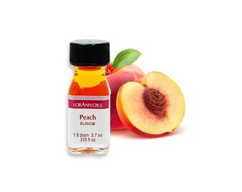 Peach LorAnn Oils and Flavors, Baking and Candy Making