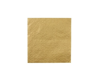 Gold Embossed Paper Napkins, Tableware, Party Supplies