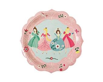 Iu0027m A Princess Paper Plates Large Fairy Tale Tableware Party Supplies Meri Meri  sc 1 st  Etsy & Princess plates   Etsy