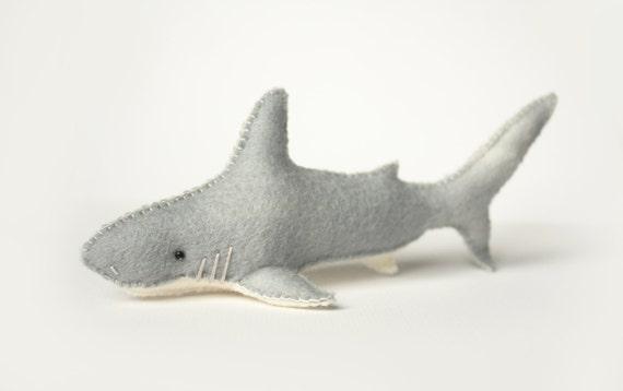 Felt Shark Sewing Pattern Marine Life Pattern PDF | Etsy