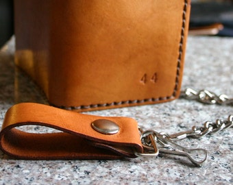 Chain. Leather chain for your wallet add-on