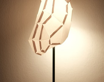 DONKEY MEDIUM / do it yourself paper lamp shade