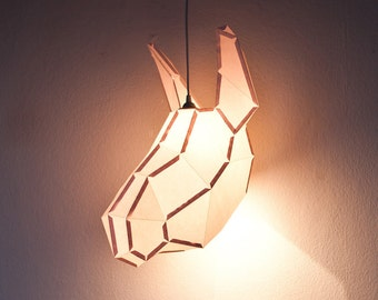 DONKEY LARGE / do it yourself paper lamp shade