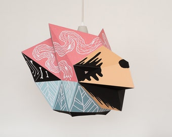 CHETAN LARGE x BOICUT / A lamp shade, a poster or something else...