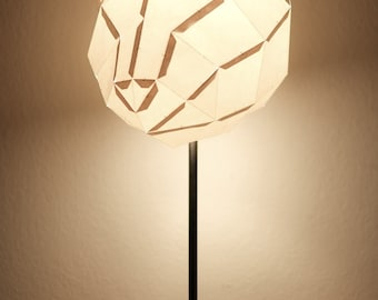 CAT MEDIUM / do it yourself paper lamp shade