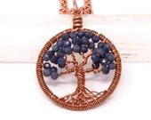 Sapphire necklace, Septem...