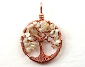 Opal tree-of-life pendant...