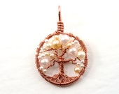 Pearl tree-of-life neckla...