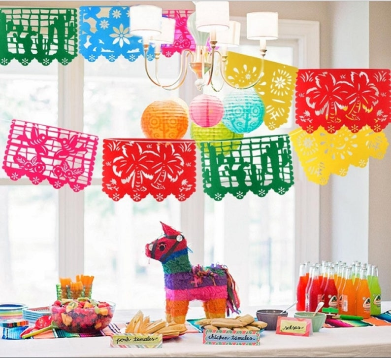 58252357f MEXICAN FIESTA GARLAND Wedding Bachelorette Party Decorations | Etsy