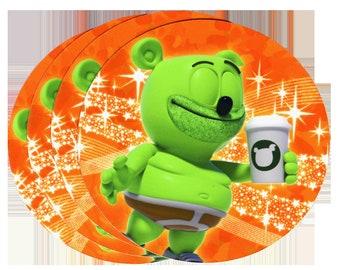 Gummibär (The Gummy Bear) Pumpkin Spice Vinyl Sticker