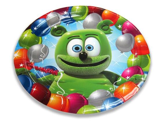 Gummibär The Gummy Bear ~ Dinner Sized Napkins ~ Pack of 16
