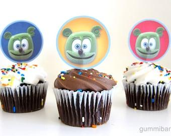 Gummibär The Gummy Bear Cupcake Toppers Birthday Party