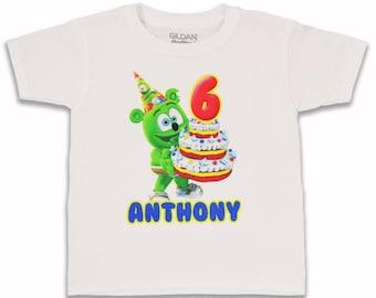 Gummibär (The Gummy Bear) CUSTOM Birthday T-Shirt