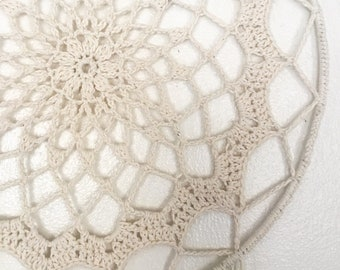Crochet Mandala Flower Hanging