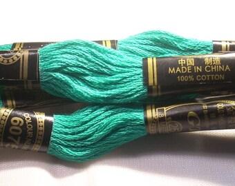SKEIN NO. 6075 GT PINE GREEN MOULINE 8 M
