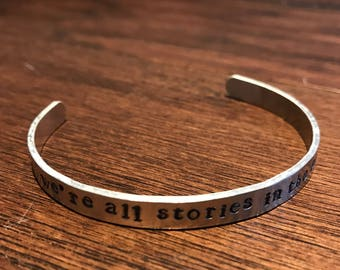 We're All Stories in the End Bracelet (Eleventh Doctor) Doctor Who