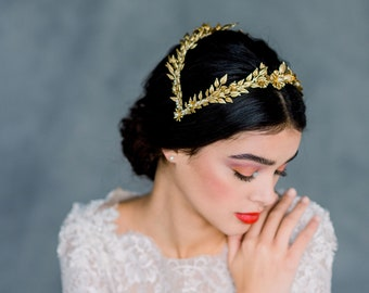 Gold Vintage Bridal Crown ef4aa32c156