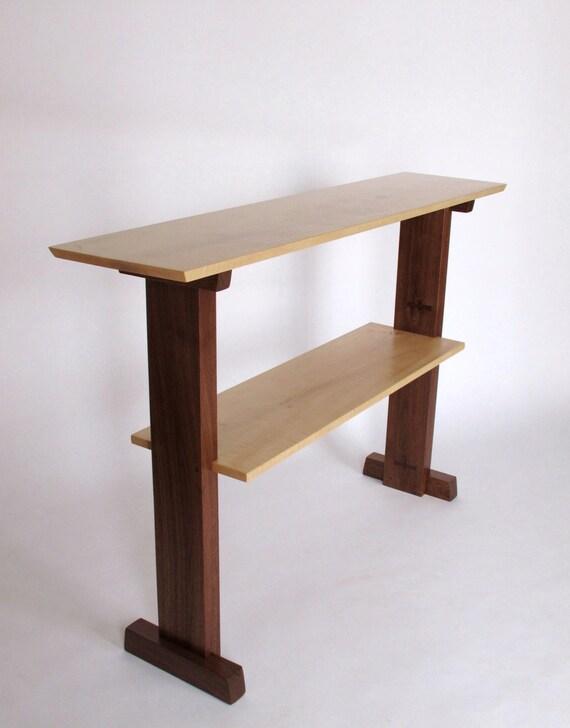 Schreibtisch schmal stehtisch konsolentisch aufstehen f r for Schreibtisch schmal
