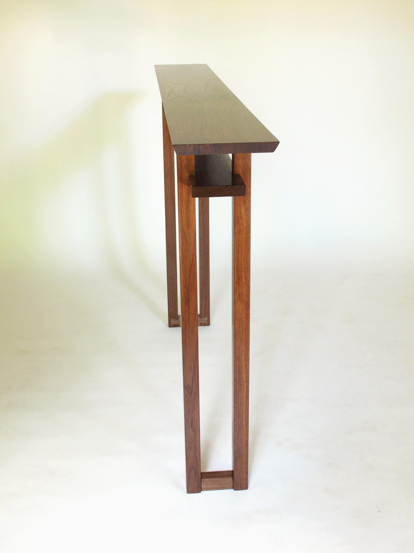 sehr schmalen konsole tisch f r kleine r ume halle tabelle. Black Bedroom Furniture Sets. Home Design Ideas