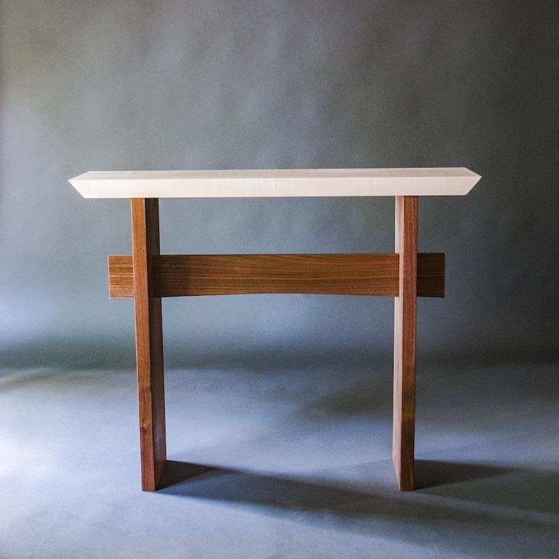 console dentrée: entrée étroite table tables de petit   etsy