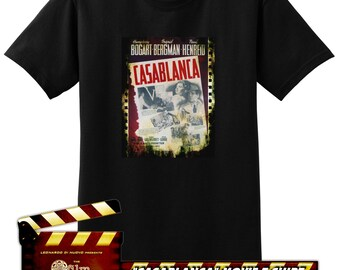 2808bbe35f3e CASABLANCA - The Film Fanatic T-shirt Collection