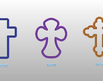 "Cross - Various styles 4"""