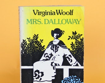 Vintage Book Mrs Dalloway by Virginia Woolf 1953 Paperback Collectible Vintage Books English Literature Fiction
