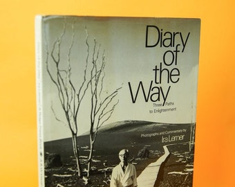 Vintage Book, Japanese, Diary of the Way Three Paths of Enlightenment by Ira Lerner, Japan Gifts, Asian Books, Tai Chi, Martial Arts, Aikido