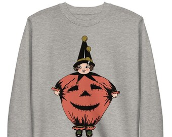 Halloween Sweater, Halloween Sweater for Women, Halloween Pumpkin, Witch Sweater, Sweater, Pumpkin, Fall Sweaters, Cute Sweaters