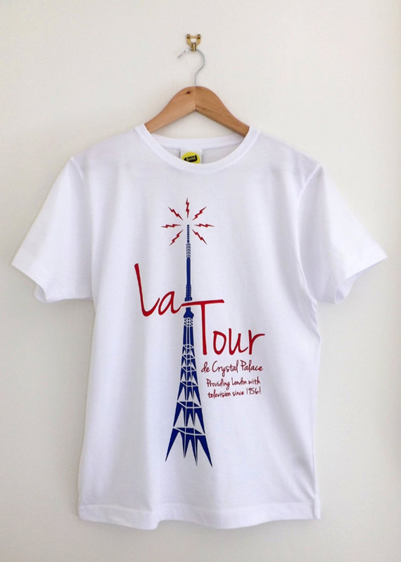 dc298aa39206 La Tour T Shirt   Crystal Palace T Shirt Crystal Palace
