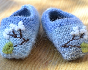 Apple Blossom Baby Shoes
