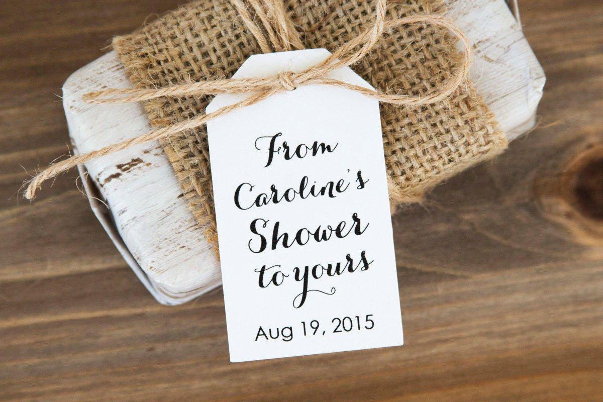 Bridal Shower Tags Baby Shower Favors Soap Favor Bath