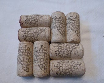 Wine Cork Coasters - Set of 4